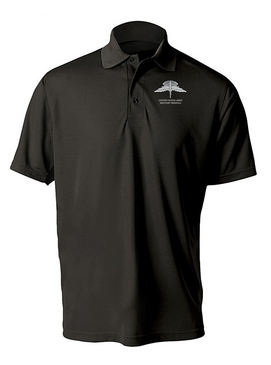 US Army HALO Embroidered Moisture Wick Polo  Shirt