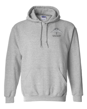 US Army HALO Embroidered Hooded Sweatshirt