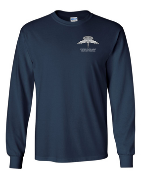 US Army HALO Long-Sleeve Cotton T-Shirt