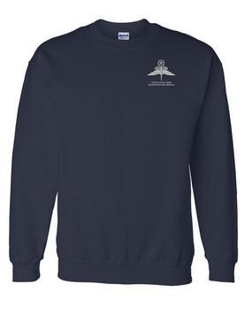 US Army HALO -Master Rated-Embroidered Sweatshirt