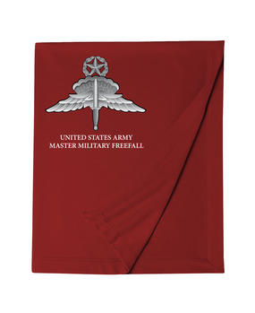 US Army HALO-Master Rated Embroidered Dryblend Stadium Blanket