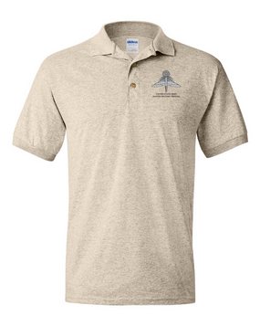 US Army HALO-Master Rated  Embroidered Cotton Polo Shirt