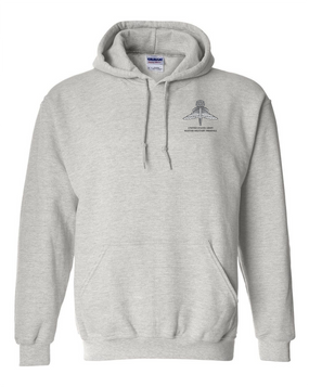 US Army HALO-Master Rated  Embroidered Hooded Sweatshirt