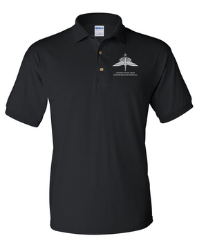 US Army HALO-Senior Rated  Embroidered Cotton Polo Shirt