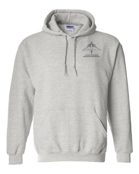 US Army HALO-Senior Rated  Embroidered Hooded Sweatshirt