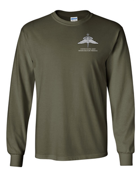 US Army HALO-Senior Rated  Long-Sleeve Cotton T-Shirt