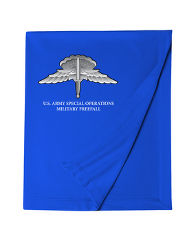 US Army Special Operations HALO Embroidered Dryblend Stadium Blanket