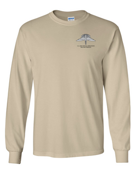 US Army Special Operations  HALO Long-Sleeve Cotton T-Shirt