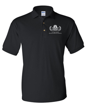 US Army Senior EOD  Embroidered Cotton Polo Shirt