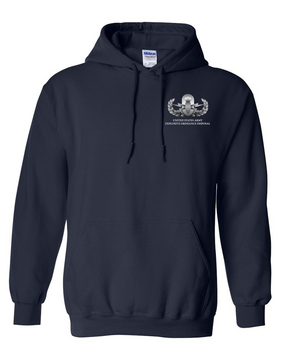 US Army EOD Embroidered Hooded Sweatshirt