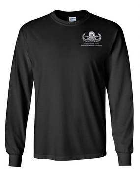 US Army EOD Long-Sleeve Cotton T-Shirt