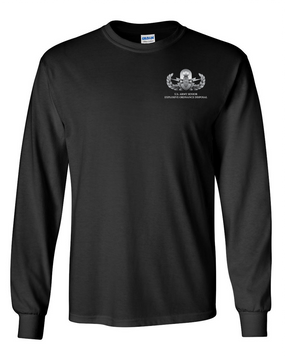 US Army Senior EOD Long-Sleeve Cotton T-Shirt