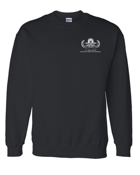 US Army Senior EOD Embroidered Sweatshirt