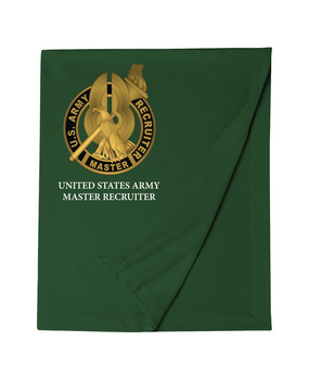 US Army Master Recruiter Embroidered Dryblend Stadium Blanket