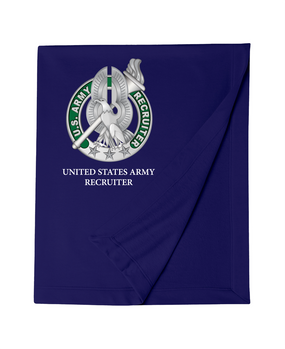 US Army Recruiter Embroidered Dryblend Stadium Blanket