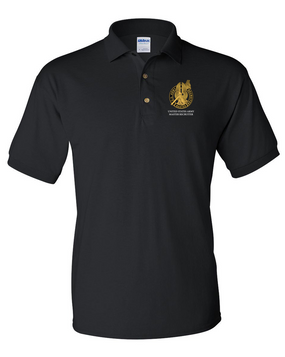 US Army Master  Recruiter Embroidered Cotton Polo Shirt