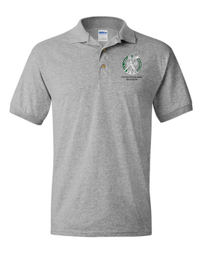 US Army Recruiter Embroidered Cotton Polo Shirt