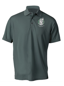 US Army Recruiter Embroidered Moisture Wick Polo  Shirt