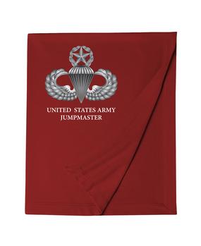 US Army Master Parachutist Badge Embroidered Dryblend Stadium Blanket