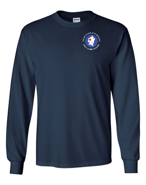 5th Battalion 87th Infantry (C) Long-Sleeve Cotton T-Shirt
