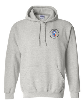 35th Signal Brigade (Airborne) (C) Embroidered Hooded Sweatshirt