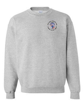 35th Signal Brigade (Airborne) (C) Embroidered Sweatshirt