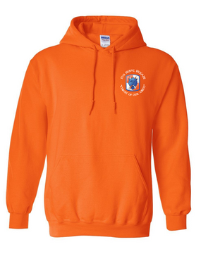 35th Signal Brigade (C) Embroidered Hooded Sweatshirt