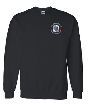 35th Signal Brigade (C) Embroidered Sweatshirt