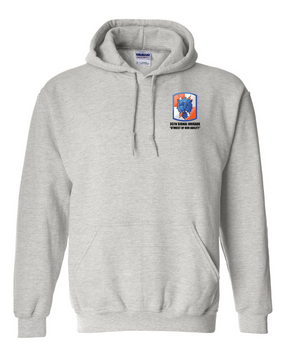 35th Signal Brigade Embroidered Hooded Sweatshirt