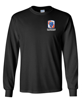 35th Signal Brigade Long-Sleeve Cotton T-Shirt