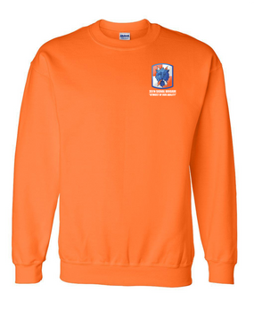 35th Signal Brigade Embroidered Sweatshirt