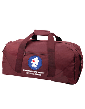 5th Battalion 87th Infantry Embroidered Duffel Bag