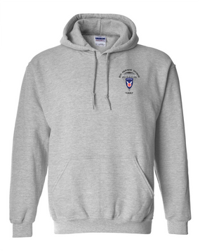 11th Airborne Division Embroidered Hooded Sweatshirt
