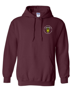 US Special Operations Command  Embroidered Hooded Sweatshirt