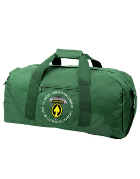 US Special Operations Command Embroidered Duffel Bag