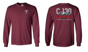 "1st Squadron 17th Cavalry Regiment (Airborne) ""C-130""  Long Sleeve Cotton Shirt"