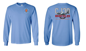 "319th Airborne Field Artillery Regiment  ""C-130"" Long Sleeve Cotton Shirt"