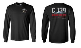 """504th Parachute Infantry Regiment  """"C-130"""" Long Sleeve Cotton Shirt"""