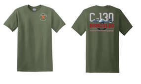 "319th Airborne Field Artillery Regiment ""C-130"" Cotton Shirt"