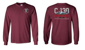 "82nd Aviation Brigade ""C-130""  Long Sleeve Cotton Shirt"