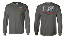 "6th Infantry Division (Airborne)  ""C-130""  Long Sleeve Cotton Shirt"