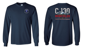 "8th Infantry Division (Airborne)  ""C-130""  Long Sleeve Cotton Shirt"
