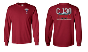 "11th Airborne Division  ""C-130""  Long Sleeve Cotton Shirt"