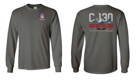 "COSCOM (Airborne) ""C-130""  Long Sleeve Cotton Shirt"