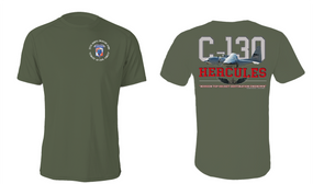 "35th Signal Brigade (Airborne)  ""C-130"" Cotton Shirt"