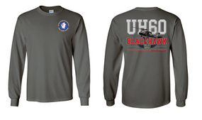 "5-87th Infantry ""UH-60"" Long Sleeve Cotton Shirt"