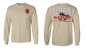 "7th Infantry Division ""UH-60"" Long Sleeve Cotton Shirt"