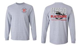 "187th Infantry Regiment (Torri)   ""UH-60"" Long Sleeve Cotton Shirt"