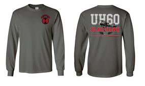 "9th Infantry Regiment  ""UH-60"" Long Sleeve Cotton Shirt"