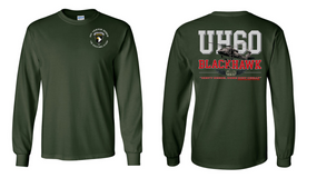 "101st Airborne Division  ""UH-60"" Long Sleeve Cotton Shirt"